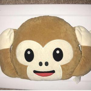 Other - Monkey Emoji Pillow